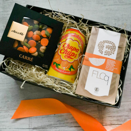 narancsos ajándékcsomag